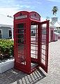 British-style telephone booth, Port Lucaya Marketplace, Freeport, Bahamas.jpg