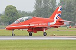 British Aerospace Hawk T.1A 'XX322' (35579444796).jpg