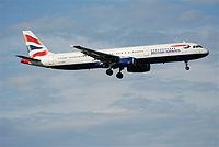 G-EUXI - A321 - British Airways