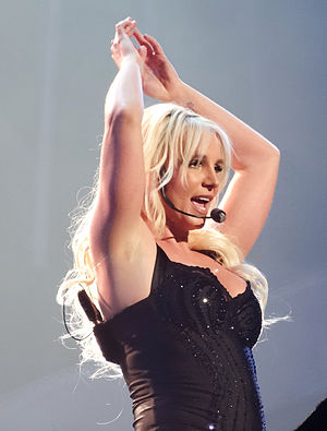...Baby One More Time (song) - Britney performing the track during her Las Vegas residency show, Britney: Piece of Me.