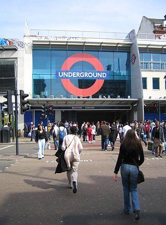 Brixton tube station - Station entrance