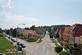 Brno-Řečkovice - pohled z železničního mostu nad Jandáskovou ulicí.jpg