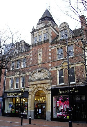 Broad Street Independent Chapel, Reading - The frontage building on Broad Street