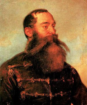 Battle of Csorna - Brocky Károly: Kmety György