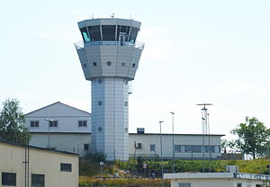 Stockholm Bromma Airport - Control tower
