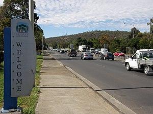 Hobart Area Transportation Study - Image: Brooker at risdon rd 7