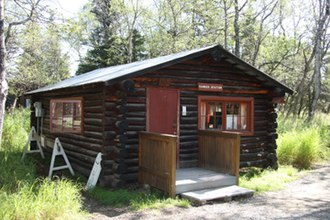 National Register of Historic Places listings in Lake and Peninsula Borough, Alaska - Image: Brooks River Boat House