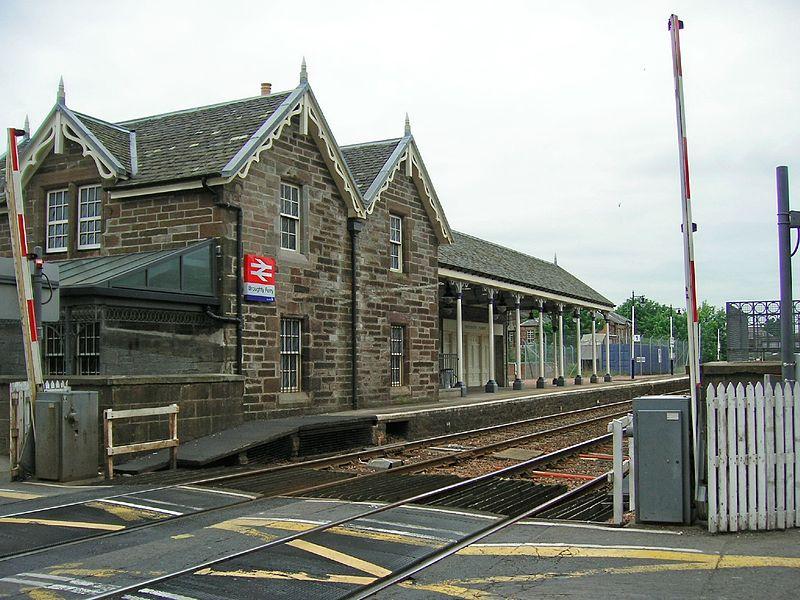 Здание станции Broughty Ferry