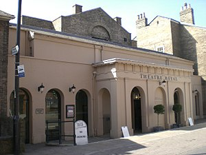 Theatre Royal, Bury St Edmunds - Theatre Royal, Bury St Edmunds exterior