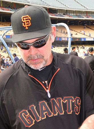 Bruce Bochy - Bochy with the Giants in April 2011