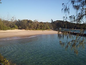 Brunswick Heads, New South Wales - A small inlet near the mouth of the Brunswick River.