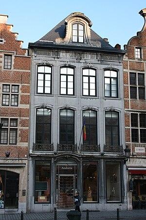 Bruxelles rue de la Montagne 10