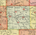Buchanan County Iowa 1903.png