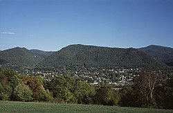 Skyline of Buena Vista, Virginia