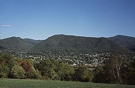 خط الأفق لـ Buena Vista, Virginia