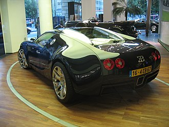 Bugatti Veyron - Bugatti Veyron EB 16/4 Concept, a modified version of the 18/4 Veyron