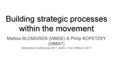 Building strategic processes within the movement.pdf