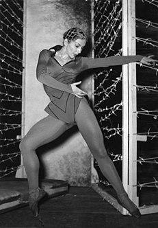 Edel von Rothe German ballerina