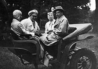 Józef Beck - With Hermann Göring, 1935
