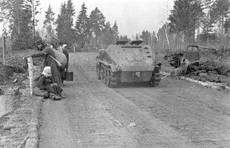Sd.Kfz. 252 - Image: Bundesarchiv Bild 101I 004 3617 30A, Russland, Schützenpanzer Sd.Kfz. 250