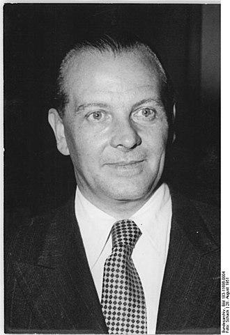 Roßlau - Richard Paulick in 1951.