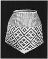 Burden Basket or Storage Basket Made of River Cane. - NARA - 281597.tif