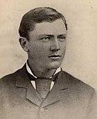 Burnham portrait photograph taken in Arizona Territory in 1881