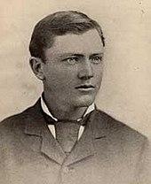 Foto do retrato de Burnham tirada no Território do Arizona em 1881