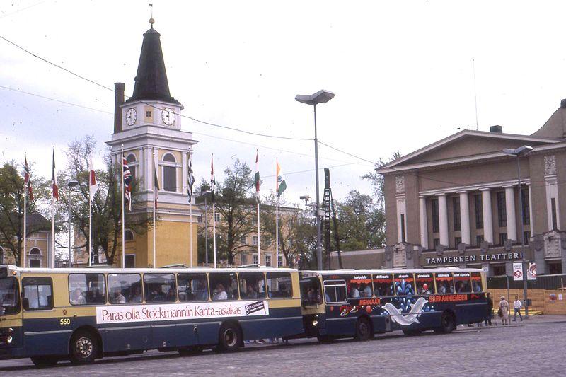 File:Buses in Tampere in 1987.jpg
