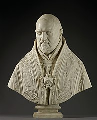 Bust of Pope Paul V (Galleria Borghese)
