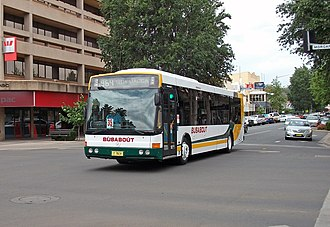 Bustech - 2000 Bustech bodied Mercedes-Benz O405NH of Busabout