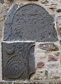 Buttevant Friary South Transept South Gable FitzGerald of Desmond Coat of Arms 2012 09 08.jpg