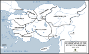 Byzantine Empire Themata-650