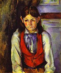 Boy in a Red Vest (Le Garçon au gilet rouge)