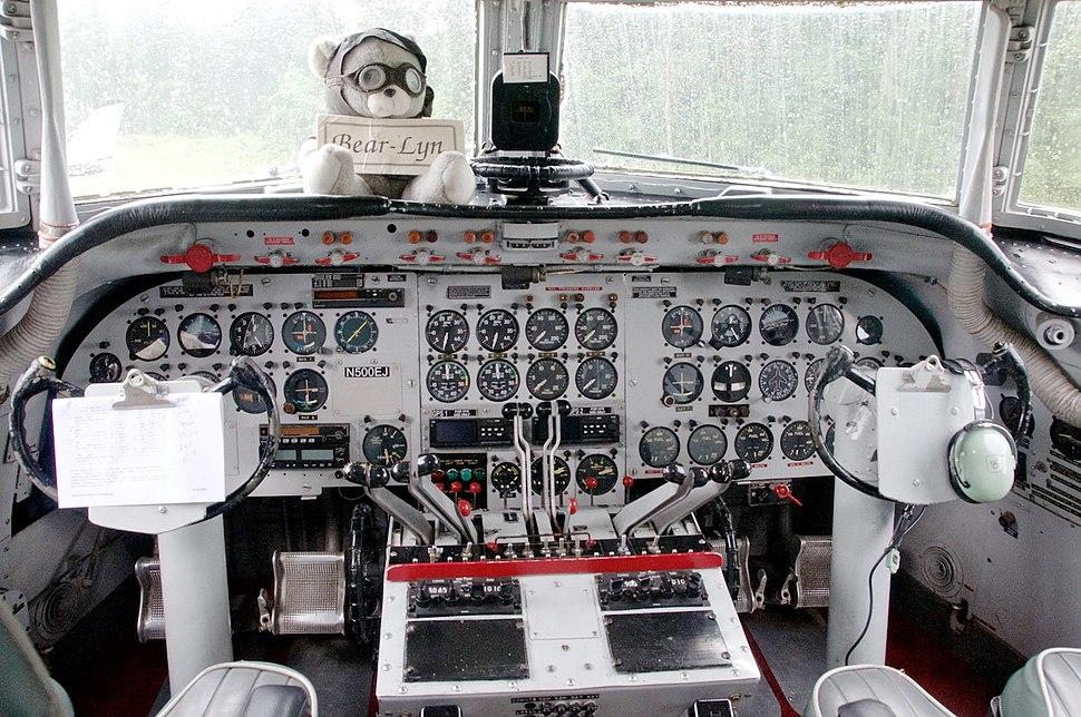 C-54 Cockpit 2009
