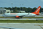 C-FYJD Boeing 737-8Q8 Sunwing (23566199873).jpg