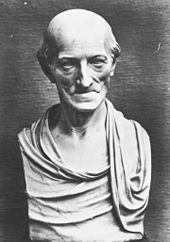 Carl Friedrich Christian Fasch, Stifter der Sing-Akademie zu Berlin, Marmorbüste nach Faschs Totenmaske von Johann Gottfried Schadow (Quelle: Wikimedia)