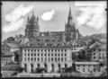 CH-NB - Lausanne, Ancien Hôpital, vue d'ensemble extérieure - Collection Max van Berchem - EAD-7283.tif