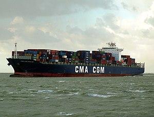 CMA CGM Berlioz, Port of Rotterdam, Holland 17-Dec-2005.jpg