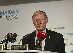 Jim Inhofe - CODEL James Inhofe during a visit to Kiev, Ukraine, October 27–28, 2014