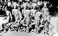 COLLECTIE TROPENMUSEUM Jamdenase dansers in groot tenue Tanimar Eilanden TMnr 10003488.jpg
