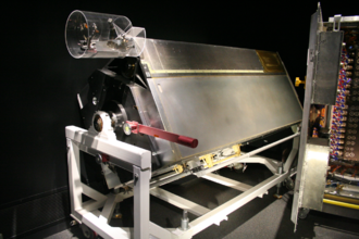 Corrective Optics Space Telescope Axial Replacement - COSTAR on exhibit at the National Air and Space Museum