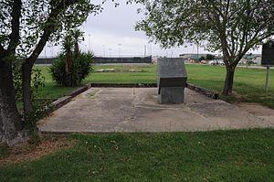 Crystal City Internment Camp - Camp memorial