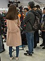 CTS News journalists at FF33 stage area 20190217.jpg