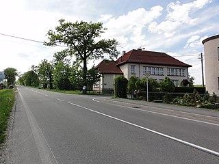 Stanislavice village in Karviná District of Moravian Silesian region