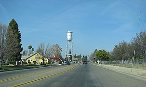 California State Route 65 - California State Route 65 near Exeter.