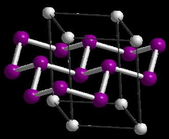 Calcium disilicide - hR9 unit cell