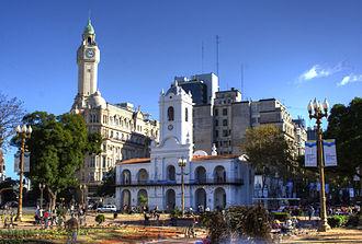 Buenos Aires Cabildo - Image: Cabildo Plaza HDR