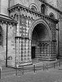 Cahors (46) Cathédrale Saint-Étienne Portail roman 08.JPG