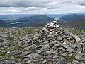 Cairn at southeastern end of Ben Alder - geograph.org.uk - 198318.jpg